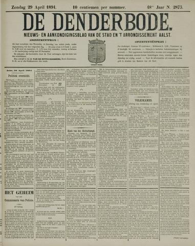 De Denderbode 1894-04-29