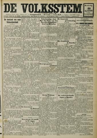 De Volksstem 1926-04-22