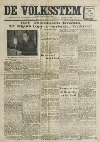 De Volksstem 1938-09-29