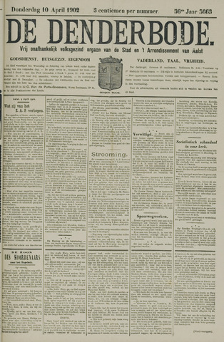 De Denderbode 1902-04-10