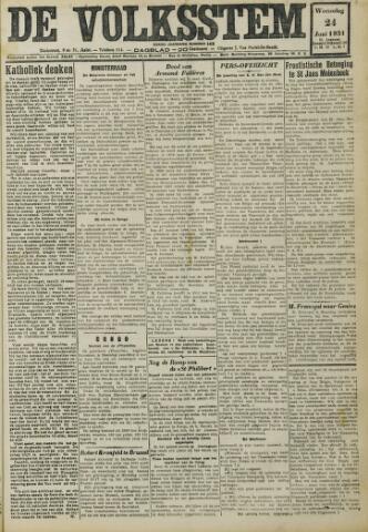 De Volksstem 1931-06-24