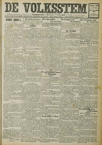 De Volksstem 1926-03-07
