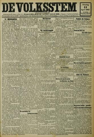 De Volksstem 1923-04-14