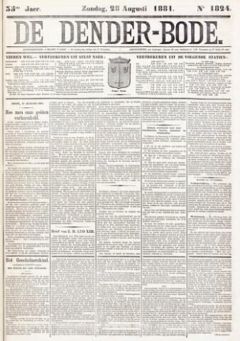 De Denderbode 1881-08-28