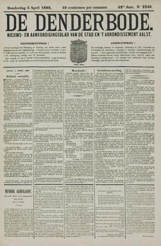 De Denderbode 1888-04-05