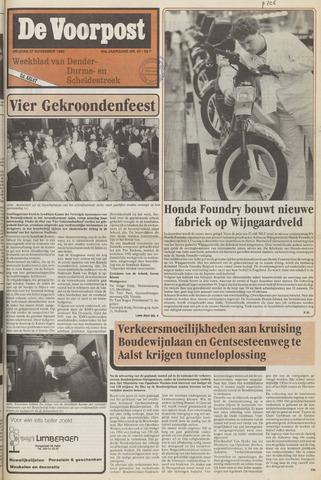 De Voorpost 1992-11-27
