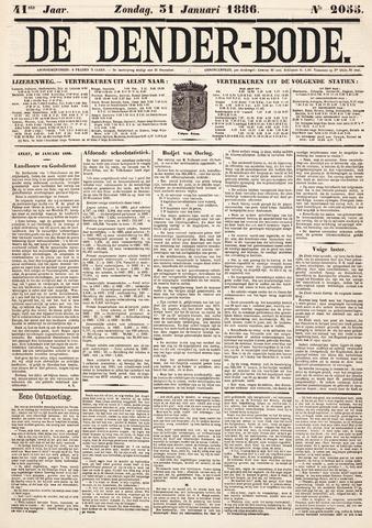 De Denderbode 1886-01-31