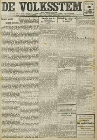 De Volksstem 1930-10-30