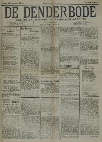 De Denderbode 1916-12-17