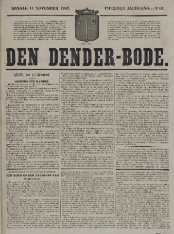 De Denderbode 1847-11-14