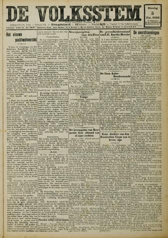 De Volksstem 1926-01-05