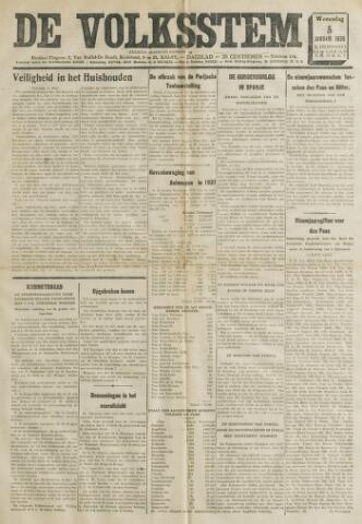 De Volksstem 1938-01-05