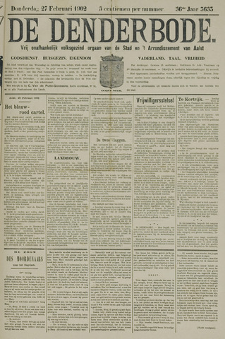 De Denderbode 1902-02-27
