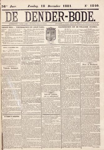 De Denderbode 1881-12-18