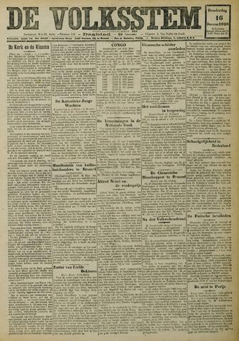 De Volksstem 1926-12-16