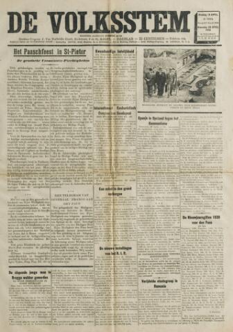 De Volksstem 1938-04-19