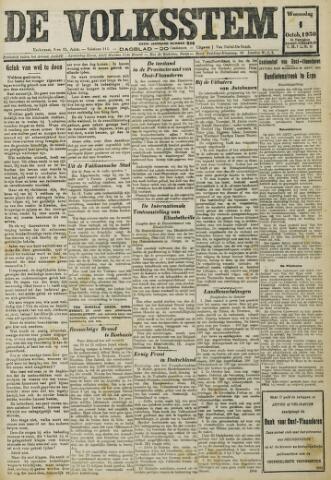 De Volksstem 1930-10-01