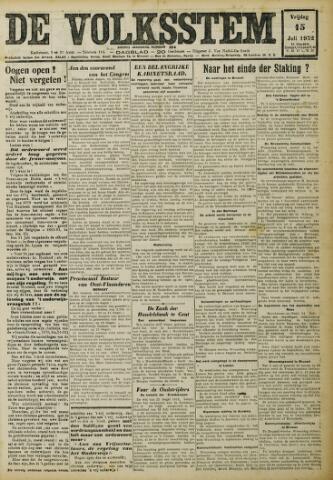 De Volksstem 1932-07-15