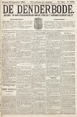 De Denderbode 1887-09-18