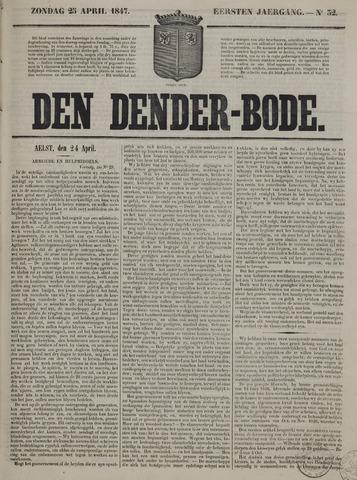 De Denderbode 1847-04-25