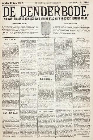 De Denderbode 1887-06-19