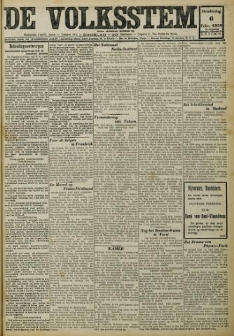 De Volksstem 1930-02-06