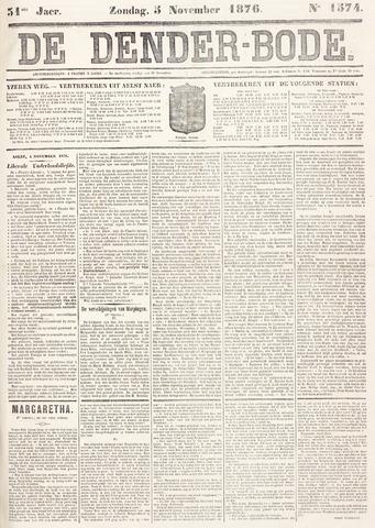 De Denderbode 1876-11-05
