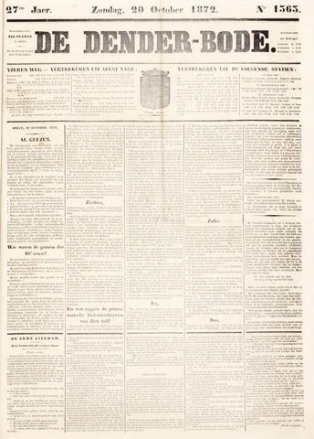 De Denderbode 1872-10-20