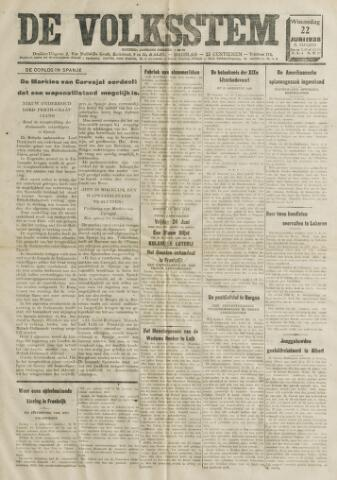De Volksstem 1938-06-22