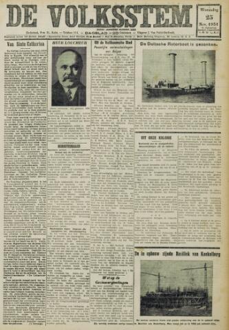 De Volksstem 1931-11-25
