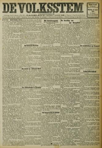 De Volksstem 1923-04-15