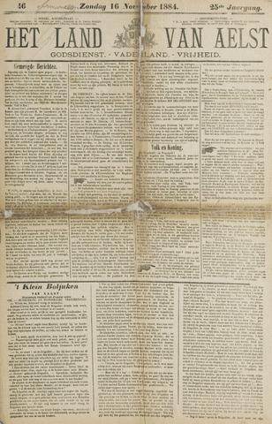 Het Land van Aelst 1884-11-16