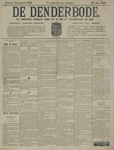 De Denderbode 1902-01-12