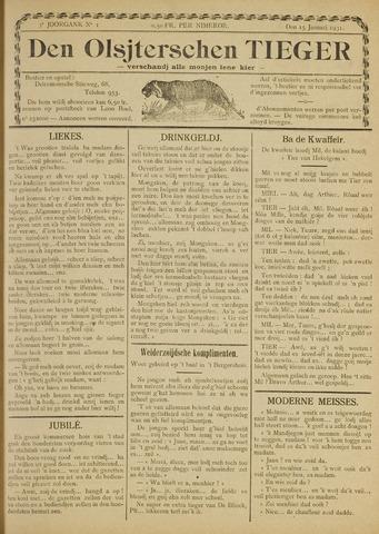 Den Olsjterschen Tieger 1931