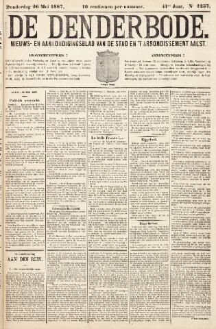 De Denderbode 1887-05-26