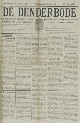 De Denderbode 1912-09-12