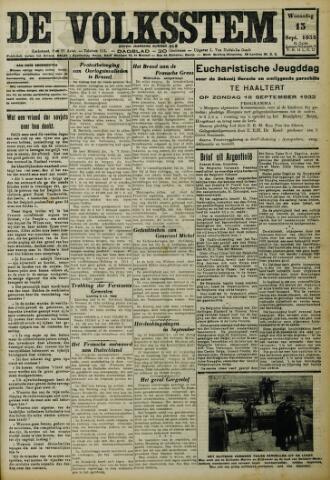 De Volksstem 1932-09-13