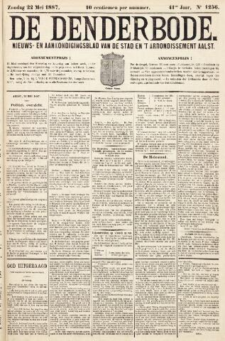 De Denderbode 1887-05-22