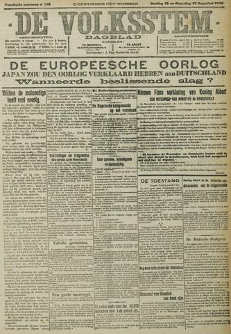 De Volksstem 1914-08-16