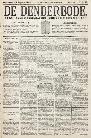 De Denderbode 1887-08-25