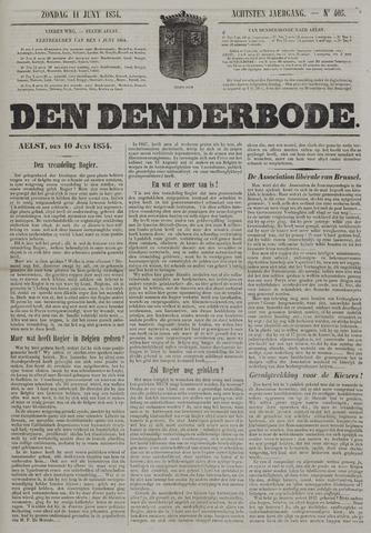 De Denderbode 1854-06-11