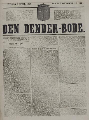 De Denderbode 1849-04-08