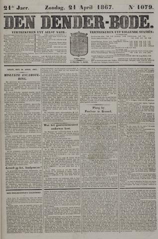 De Denderbode 1867-04-21