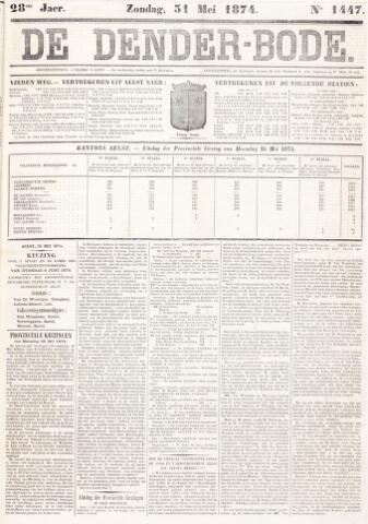 De Denderbode 1874-05-31