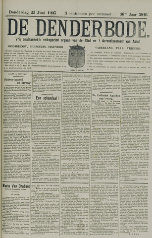 De Denderbode 1903-06-25