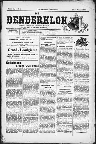 Denderklok 1934