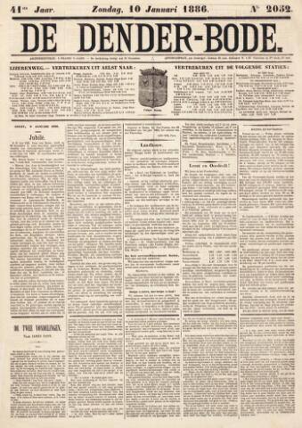 De Denderbode 1886-01-10