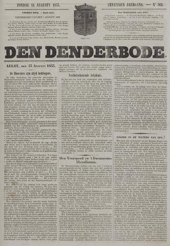 De Denderbode 1853-08-14