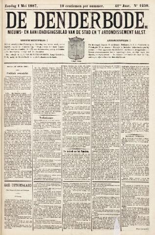 De Denderbode 1887-05-01