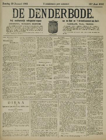 De Denderbode 1911-01-29